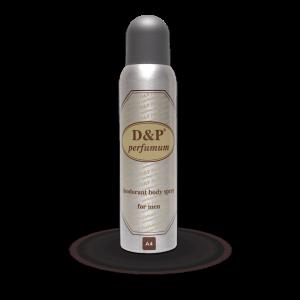 A4 150 ml – heren deodorant