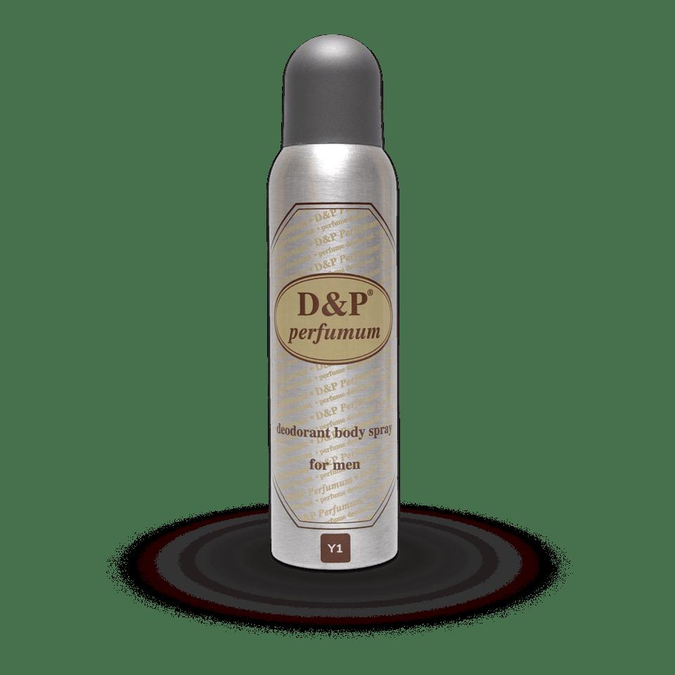 Y1 150 ml – heren deodorant
