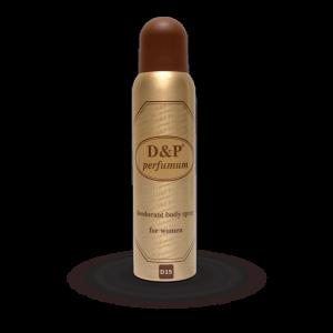 D15 150 ml – dames deodorant