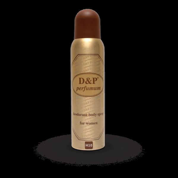 H10 150 ml – dames deodorant