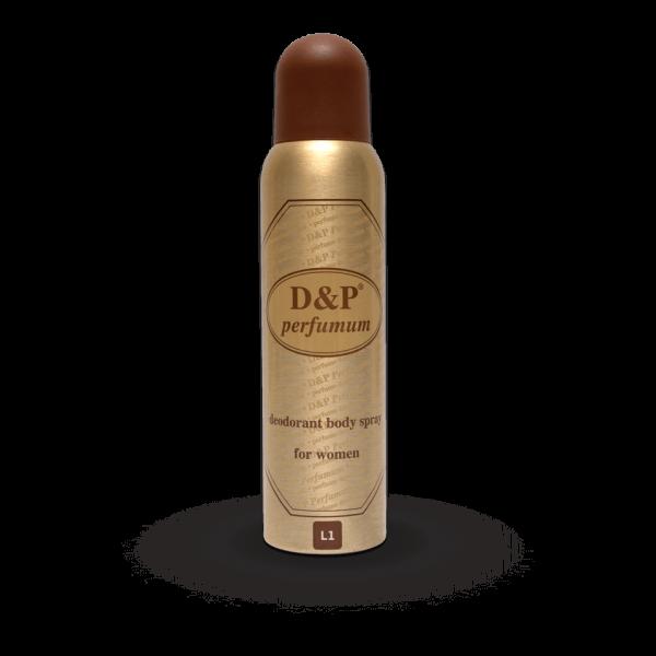 L1 150 ml – dames deodorant
